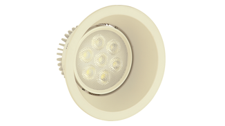 Spot LED downlight Elite réf : HS-3006-7W